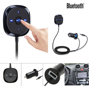 Bluetooth-Receiver-BT-to-Aux-Adapter-Car-Audio-Kit-w-3-5mm-Dongle-USB-Charger-RF