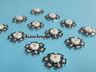 10pcs 1w 940nm Infrared IR LED 1 Watt