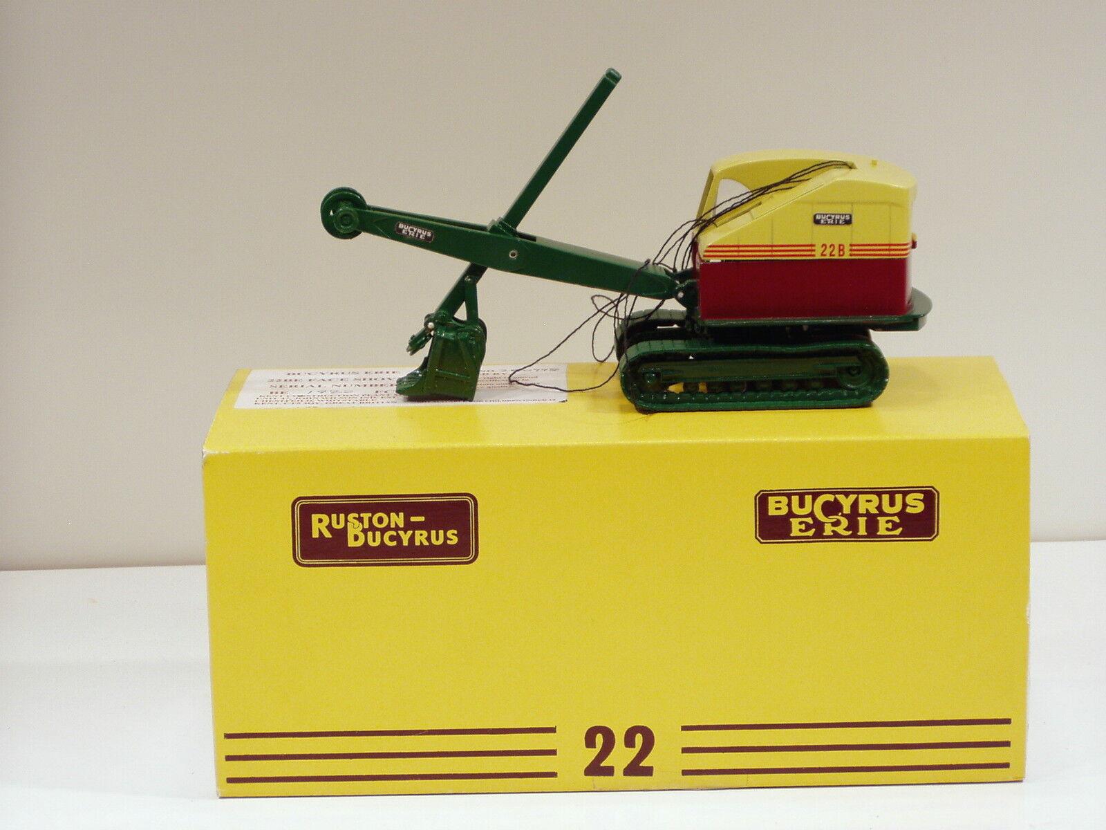 1950 - 1962 Bupyrus Erie 22B Cable Shovel - 1 48 - Kent Models of UK