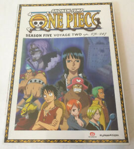 Details about ONE PIECE SEASON 5 VOYAGE 2 - ANIME DVDs - NEW & SEALED  (Episodes 276-287)