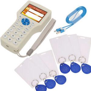 10-Frequenz-RFID-copy-verschlusselt-NFC-Intelligente-ID-IC-Card-Reader-Writer