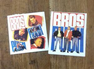 """Bros: Sticker Set 2 (Rare) """"und riesengrosse Patch Sammlung im Shop"""""""