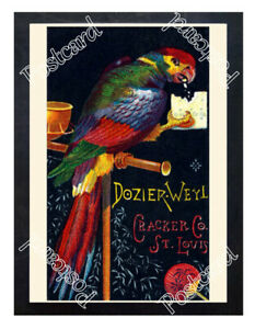 Historic-Dozier-Weyl-Crackers-1890-Advertising-Postcard