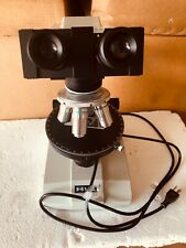 Meiji Ml6120 Microscope With 4 Objectives Please Review Item Images For Details
