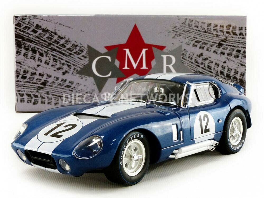 CMR - 1 18  - SHELBY COBRA DAYTONA COUPE - 24H LE hommeS 1965 - CMR111  juste l'acheter