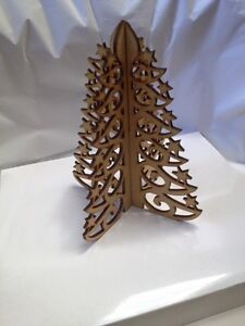 Christmas Trees 10cm Freestanding x 5.