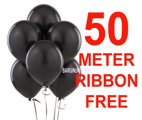 WHOLESALE BALLOONS 25-100 Latex BULK PRICE JOBLOT Quality Any Occasion BALLONS