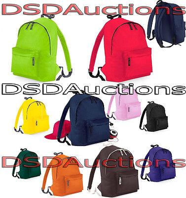 BagBase Fashion Sac à dos Sac à dos en 20 couleurs Cyclisme Sac Trendy Messager