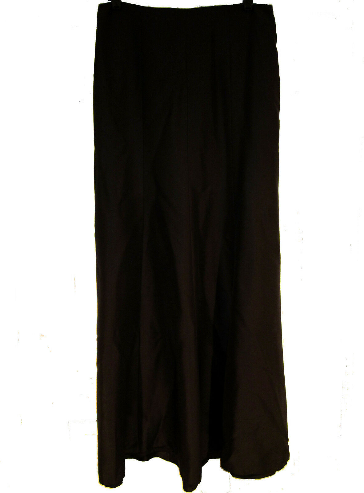 Ann Taylor long brown silk skirt sz 6 maxi formal ball NEW  168