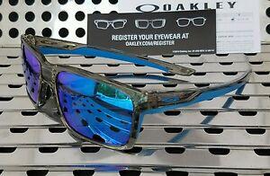 180b2fc27ec New Oakley 9264-03 MAINLINK Sunglasses Gray Ink   Sapphire Iridium ...