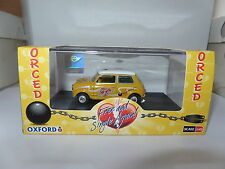 Oxford 43MIN022 1/43 BLMC Mini MIN022 Mini Car Just Divorced Yellow Ball & Chain