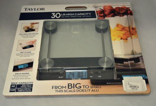 Taylor 30 LB Ultra Precise High Capacity Kitchen Scale Shipping NIB!