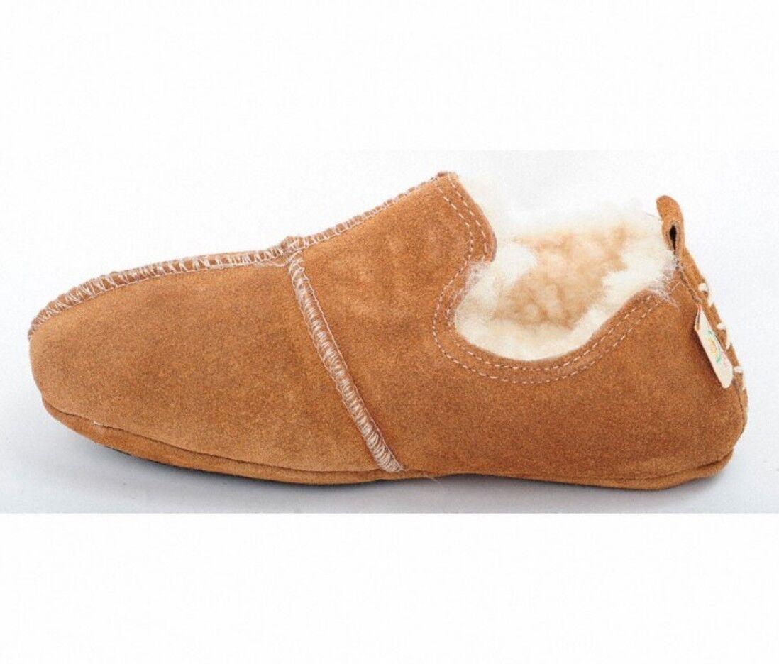 Agnello Pantofole Foderato Aladdin capanne Scarpe dick Foderato Pantofole Patschen UOMO DONNA 674009