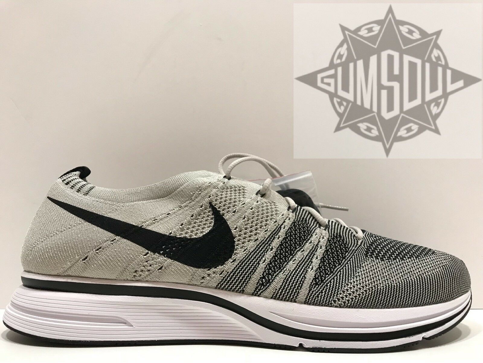 Nike flyknit trainer og pallido grigio bianco nero ah8396 001 ah8396001 sz 13