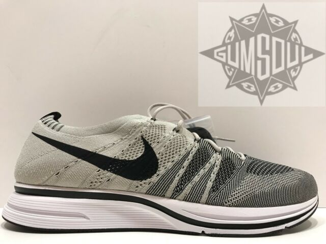 2c082493801a NIKE FLYKNIT TRAINER OG PALE GREY BLACK WHITE AH8396 001 AH8396001 sz 13