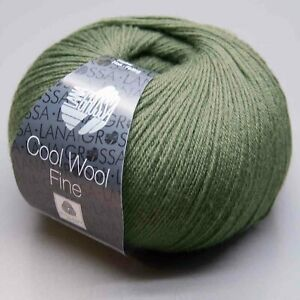Lana-Grossa-Cool-Wool-Fine-24-Ll-300m-50g-Needle-Thickness-2-5-3