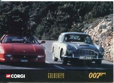James Bond Corgi Cars Exclusive Trading Card #50 Goldeneye