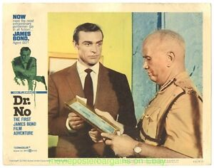 DR-NO-LOBBY-CARD-size-11x14-Inch-MOVIE-POSTER-Card-7-JAMES-BOND-SEAN-CONNERY