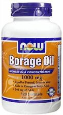 Aceite de borraja 1000mg X120 ** mayor Gla concentración *