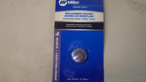 MILLER  HELMET BATTERY CR2450  #217043          USA SELLER