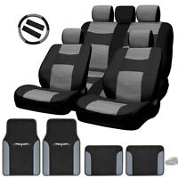 Semi Custom Leatherette Seat Covers Split Seat Vinyl Mats Bg Set For Audi