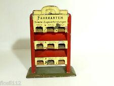 Bing Fahrkartenschrank 20/30er Jahre, Spur 0, selten!