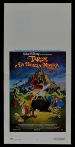 Plakat Taron und Die Kochtopf Magica Animation Walt Disney Hexenmeister L83