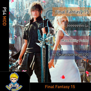 Final-Fantasy-15-PS4-Mod-Max-Money-Level-Skill-point-Best-Gears