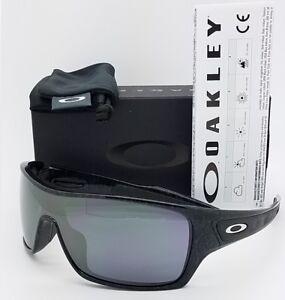 NEW Oakley Turbine Rotor sunglasses Ghost Text Black Iridium 9307-02 ... 55a9698b15