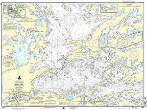 NOAA Chart Rainy Lake-Internati<wbr/>onal Falls to Dryweed Island 15th Edition 14998