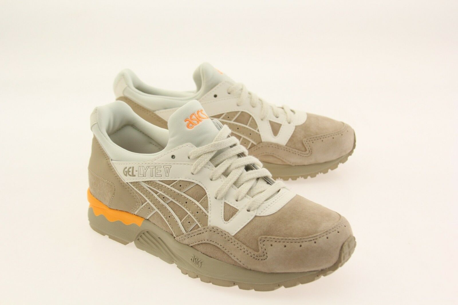 Asics Tiger Women Gel Lyte V tan sand H661L-0505 Wild casual shoes