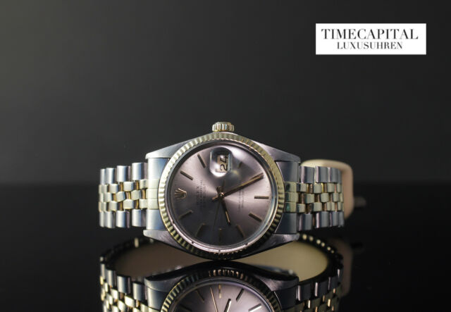 Rolex Oyster Perpetual Datejust Ref. 16013 Stahl Gold - Ø 36mm