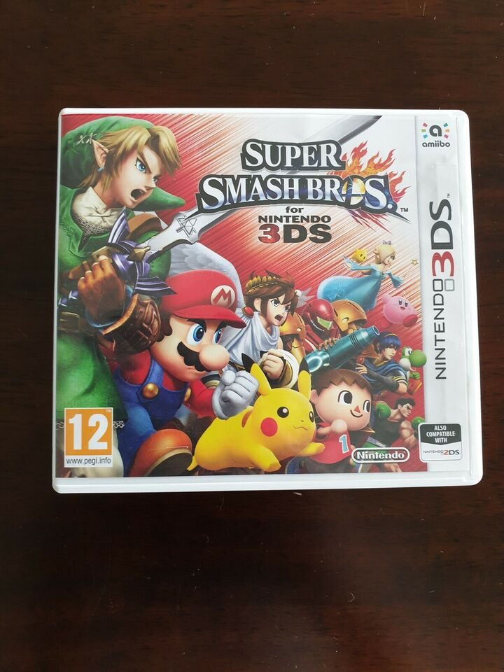 Super smash bros 3DS, Nintendo 3DS, action