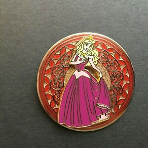 WDW-Stained-Glass-Princess-Series-Aurora-from-Sleeping-Beauty-Disney-Pin-20370