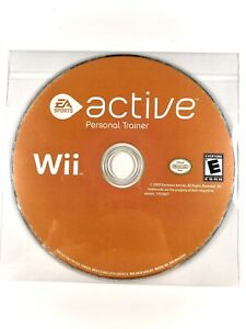 FREE-SHIPPING-EA-Sports-Active-Personal-Trainer-Nintendo-Wii-2009-DISC-ONLY-VG