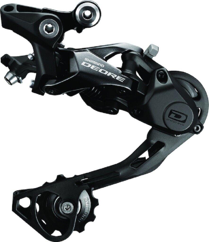 Shimano Shimano Shimano Fahrrad Schaltwerk Deore 10-fach IRDM6000GS 10-fach - schwarz eccdce