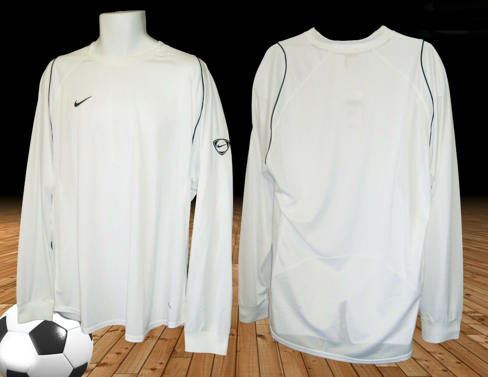 New NIKE TIEMPO Football Training Sweatshirt L