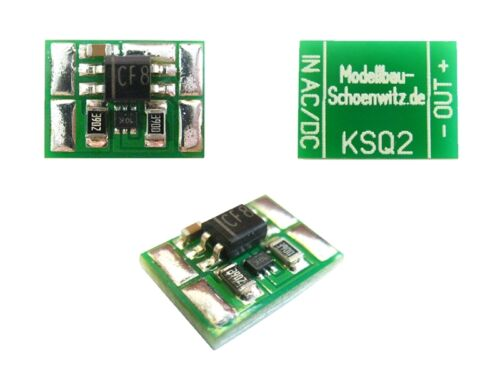 S1116-10 Stück Miniatur Konstantstromquelle 10mA für LEDs an 4-24V AC//DC KSQ2