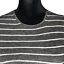 miniature 4 - Vince Womens Gray Wool Striped Rib Knit Long Sleeve Pullover Sweater Top Size M