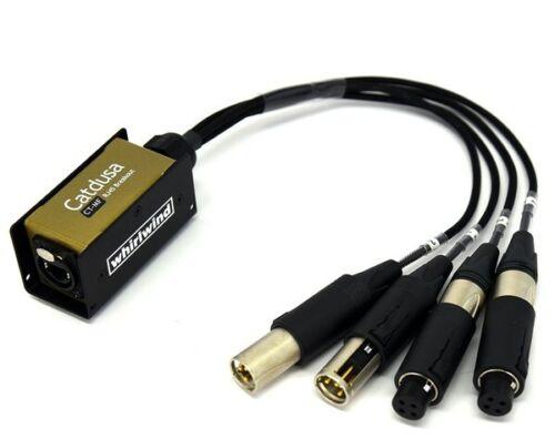 Whirlwind Catdusa CT-MF Ethercon RJ45 Mini Audio Snake to 2XRF & 2XLRM