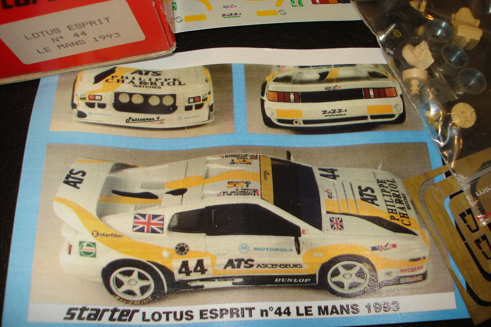 Lotus Esprit Le Mans 1993 1 43 Starter Resin Kit unbuilt rar raro n. AMR BBR rar