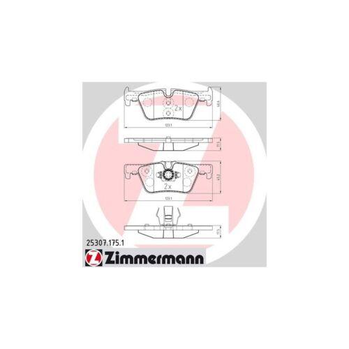 Zimmermann Bremsbeläge hinten BMW 1er 2er 3er 4er