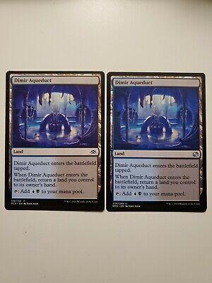 English Dimir Aqueduct MTG magic cards 1x x1 NM-Mint Foil Modern Masters 2015