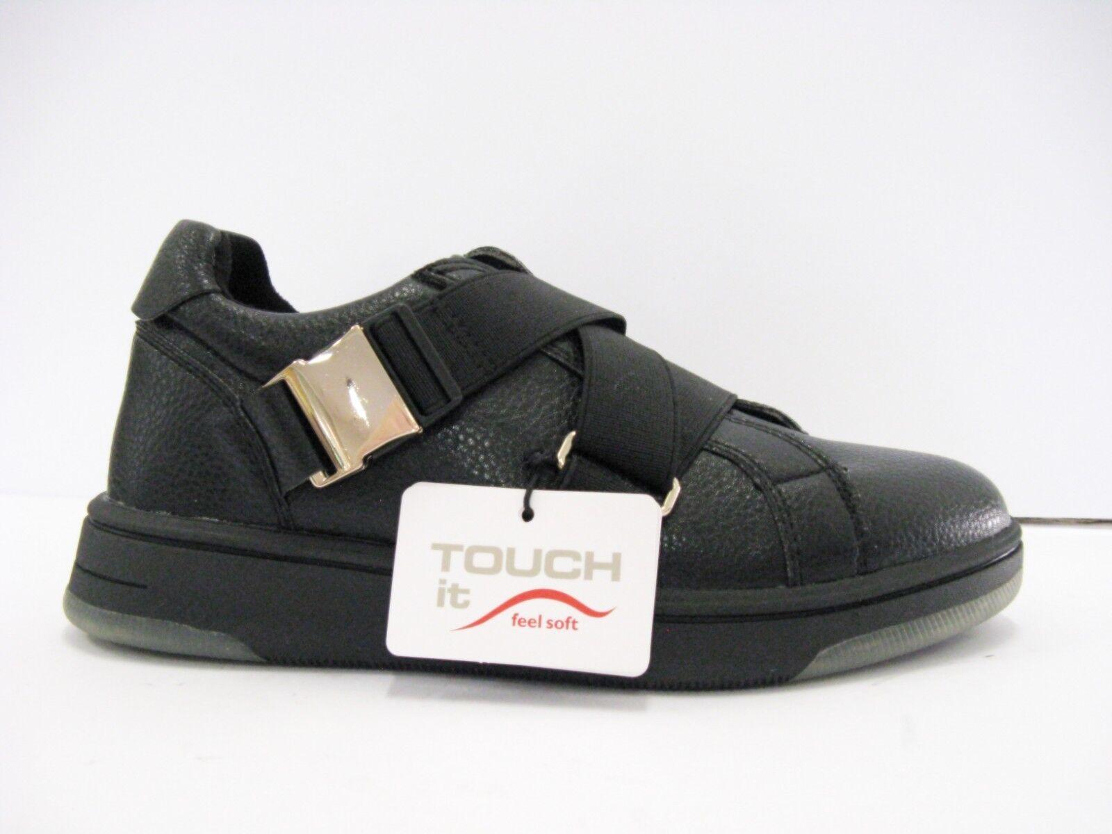 TAMARIS 24708 29 001 scarpe nera da ginnastica donna fibbie nera scarpe suola gomma inserto antiscivolo 0f0c1c