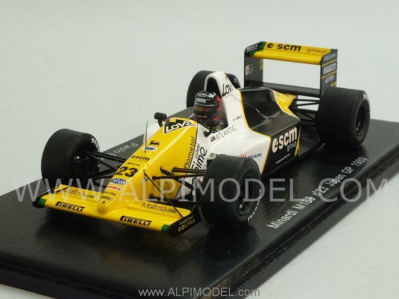 Minardi M189 GP Japan 1989 Paolo Barilla 1 43 SPARK S4112
