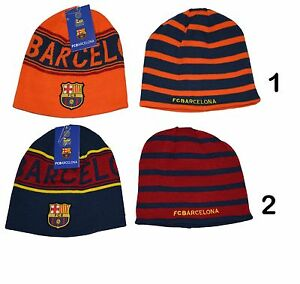 65d19f30916 Image is loading FC-BARCELONA-BEANIE-REVERSIBLE-OFFICIAL-WINTER-SKULL-CAP-