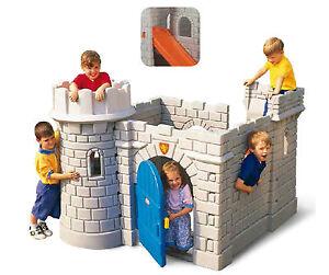 Startseite Garten Schloss Spiel Kinder Mit Rutschen Tor Fenster Fake Kamin