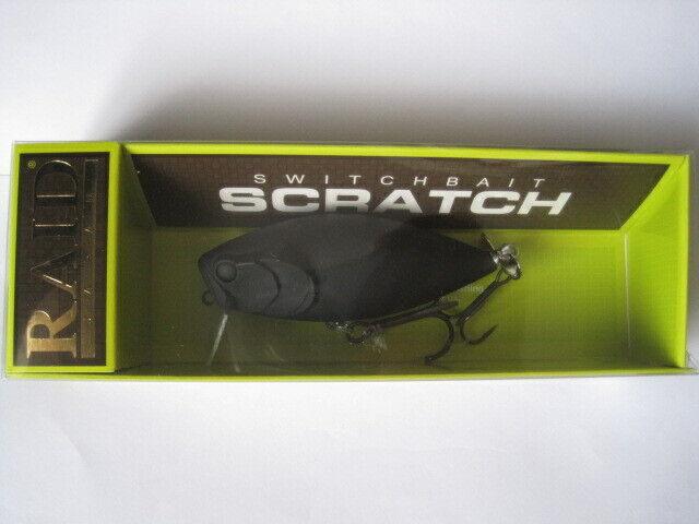 RAID Japón switchbait arañazos All negros  Color SCR001 Nuevo En Paquete     de moda
