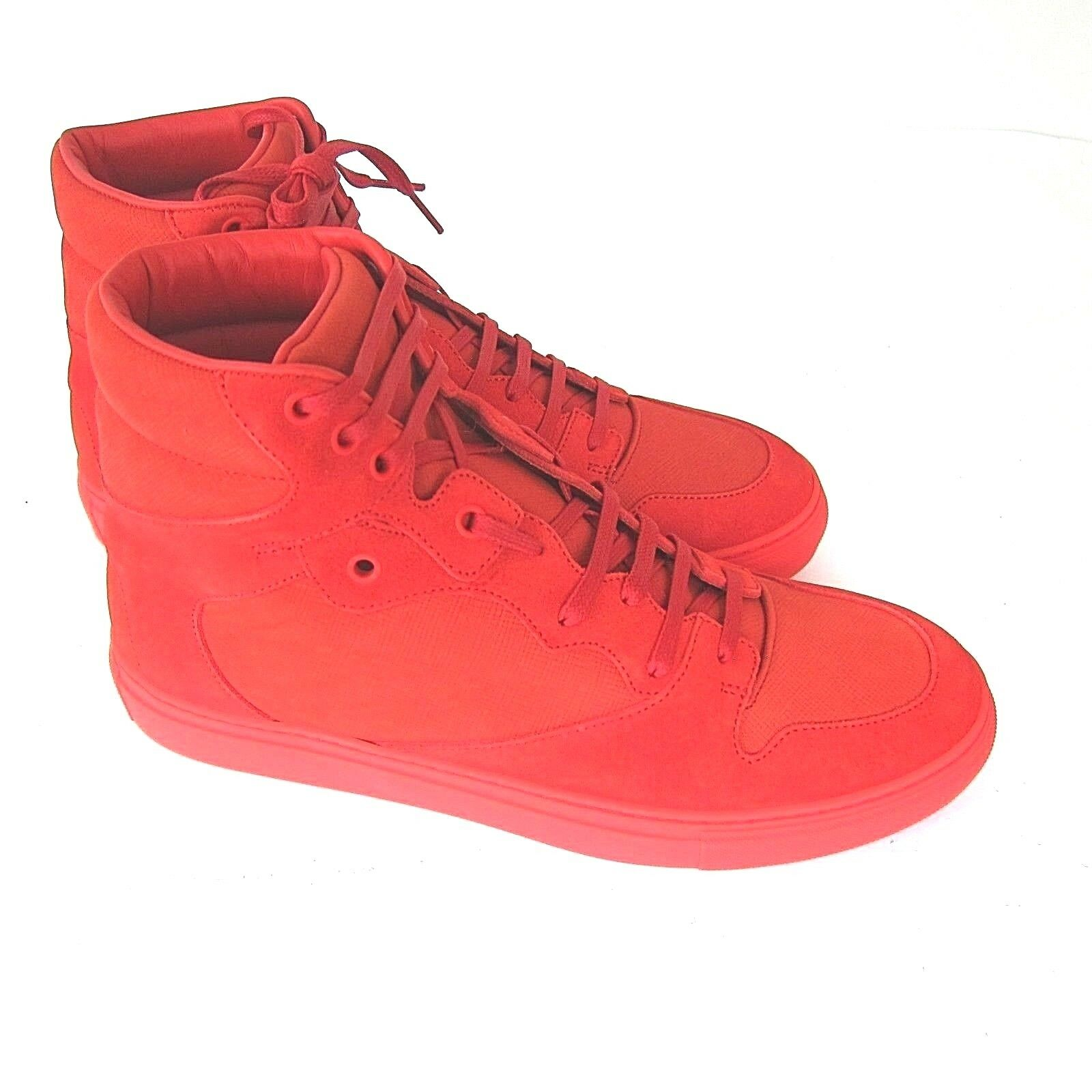 J-3359124 New Balenciaga Red Pelle  Shoes   9 Marked 42
