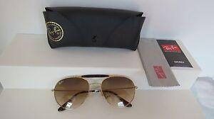 dab39657f7 Image is loading Genuine-Ray-Ban-Highstreet-Double-Bridge-Gradient- Sunglasses-